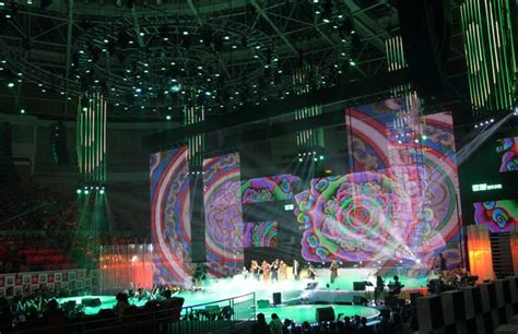 stage curtain rental sinoela transparent high quality led strip screen p31 25
