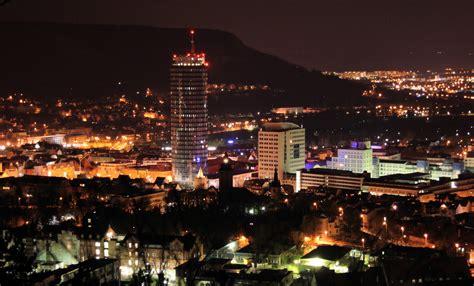 marc bennemann uni turm jena bei nacht foto bild deutschland europe