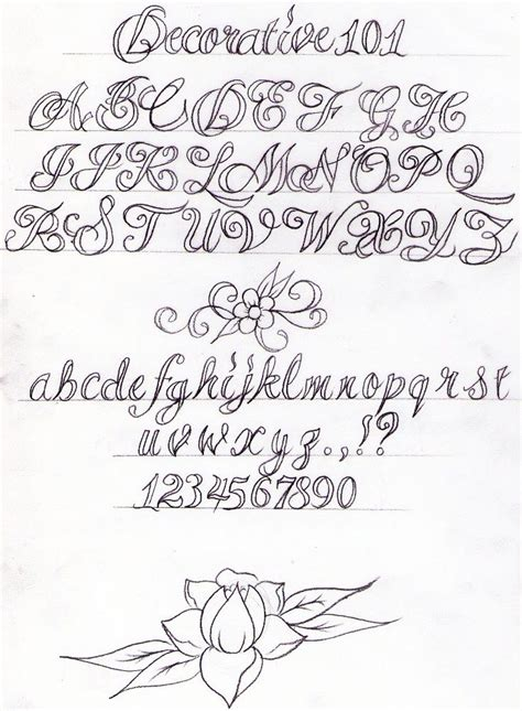 tattoo lettering tutorial decorative writing tutorial by nevermore ink deviantart