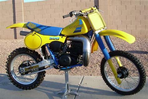 Rm500 Suzuki Suzuki Rm Post Vintage Evolution Era Motocross