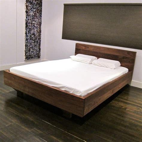 Floating Platform Bed Frame Floating Platform Bed Platform Bed Plans Pinterest
