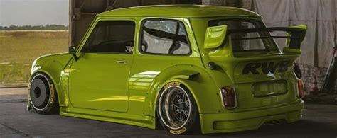 rwb mini  bean race car rendering  nfs worthy