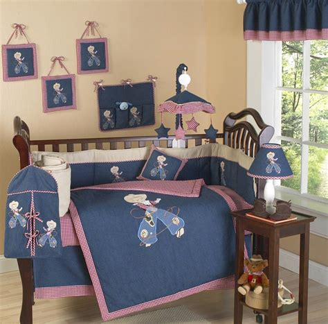 Cowboy Crib Set Baby Bedding Cowboy Baby Crib Bedding Ride Em Cowboy 9 Crib Set Buckaroo Style