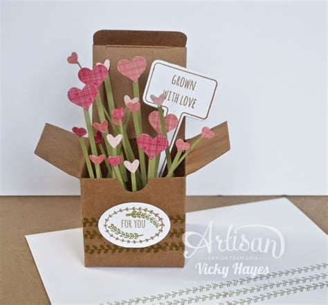 Diy Papercraft Pop Up Card Bunga Pansy 1623 best cards in a box images on card boxes exploding boxes and 3d cards