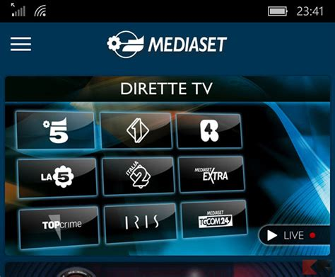 film mediaset it vedere film in streaming su android chimerarevo