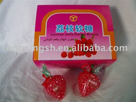 lychee fruit candy jelly candy drops lychee flavor products china jelly