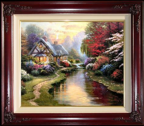 9 Paintings Framing Frame by A Evening Places In The I By Kinkade