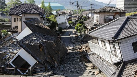 earthquake in japan 41 dead after 2 large earthquakes hit japan race against