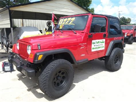 Jeep St Augustine Jeep Wrangler For Sale In Augustine Fl