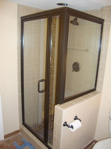 bathroom shower doors ideas 1000 images about shower door ideas on shower