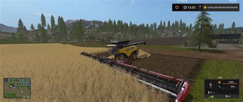 Large Ls New Header V1 0 For Ls17 Farming Simulator