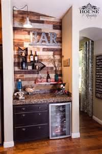 Patio World Home Hearth Wine Bar Pallet Wall Bar Modern Contemporary