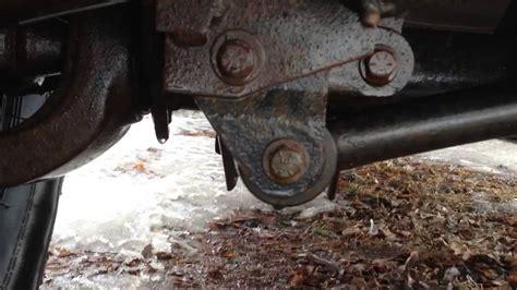 2004 Jeep Wrangler Wobble Bad Track Bar Bushing