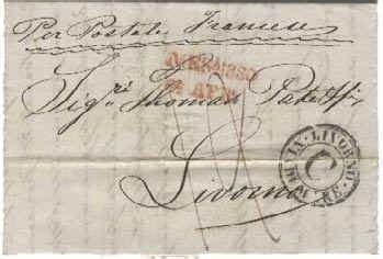porto assegnato porto franco il postalista e la storia postale toscana