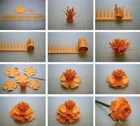 cara membuat bunga dengan kertas jagung cara membuat bunga dari kertas bertangkai