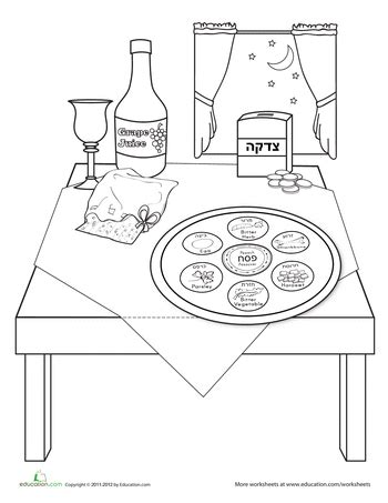 jewish preschool coloring pages activities for passover at internet 4 classrooms