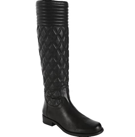 Stuart Weitzman Clute Quilted Boots by Wearing Stuart Weitzman Quilted Leather