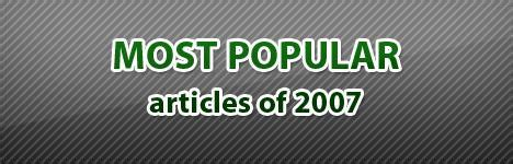 Most Desirable Of 2007 by Jetson Green Most Popular Articles Of 2007 Jetson Green
