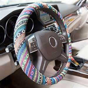 Baja Steering Wheel Cover Automotive Steering Wheel Cover Tkoofn Ethnic Style Baja