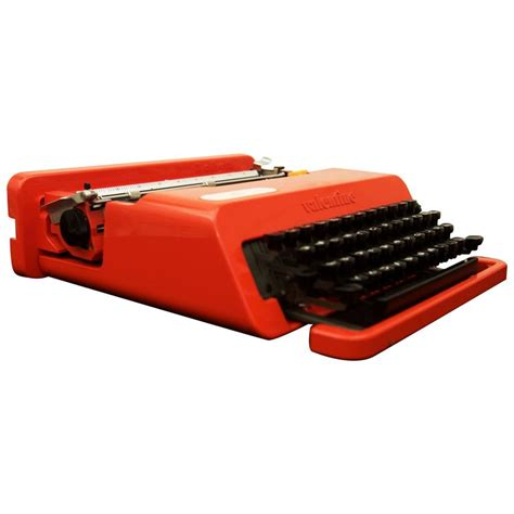 olivetti typewriter olivetti quot quot typewriter by ettore sottsass for