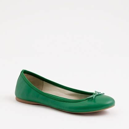 green shoes flats bright green ballet flats fashion