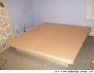 Make Your Own Bed Frame How To Make A Modern Platform Bed For 100