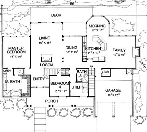 floor plans with mother in law apartments main floor plan spotlats