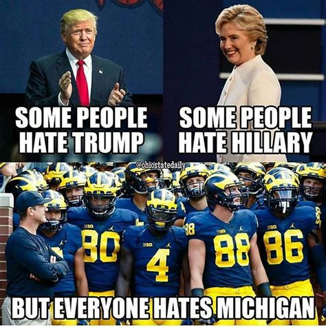 Michigan Football Memes - 59 best michigan sucks images on pinterest ohio state