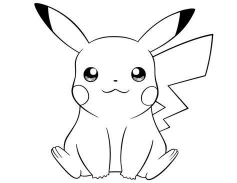 cute pikachu coloring page get this cute pikachu coloring pages 8vbg3