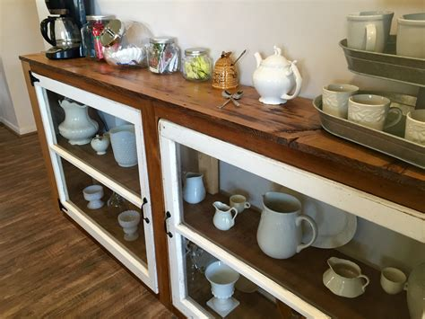 diy buffet table remodelaholic how to build a buffet from windows and