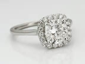 Cushion Rings Engagement Halo Engagement Rings What Diamonds Look Best Adiamor