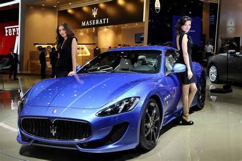 maserati models geneva motor show debut for the new maserati granturismo