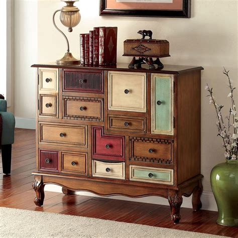 Multi Colored Cabinets by Desree Accent Chest Cabinet Storage Console Table Multi