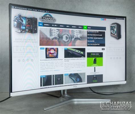 Monitor Tcl review tcl t32m6c monitor curvo de 31 5 quot el chapuzas