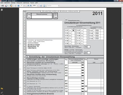 Muster Angebot Pv Anlage Umsatzsteuervoranmeldung