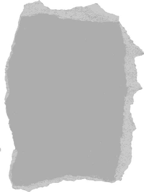 Make Paper Transparent - clipart torn paper 05