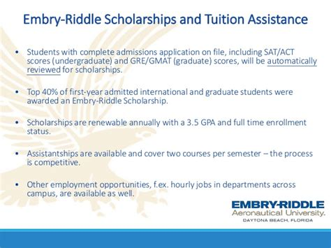 Mba Tuition Assistance by Webinar Ms And Mba Programs From Embry Riddle