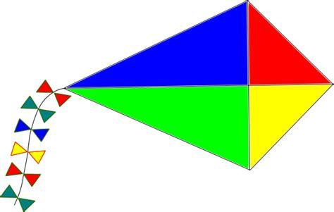Clipart Kite rainbow kite clip at clker vector clip royalty free domain