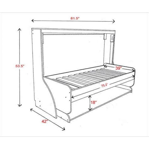 single bed dimensions hiddenbed single bed dimensions diy home pinterest