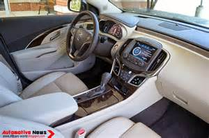 2014 Buick Lacrosse Interior 2014 Buick Lacrosse Infotaiment Interior Apps Directories