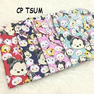 Tsum Tsum Cp by Piyama Pajamas Cp Tsum Tsum Mickey Catty Elmo Hk Cat