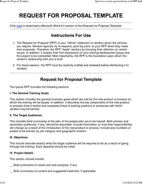 project proposal layout sle microsoft word project proposal template