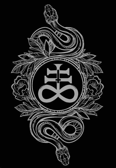 leviathan cross tattoo chaosophia218 serpents with leviathan cross the