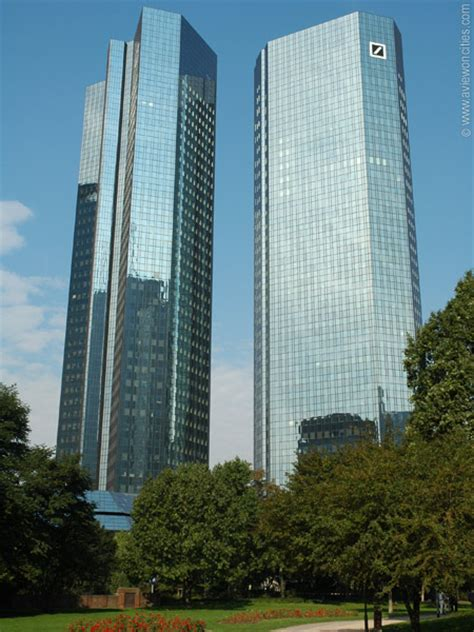 deutsche bank frankfurt am deutsche bank towers frankfurt pictures