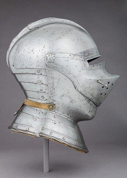 Dijamin Helm Arl Half Visor Arsenal 1500 armet helmet armor helmets tudor era and arm armor
