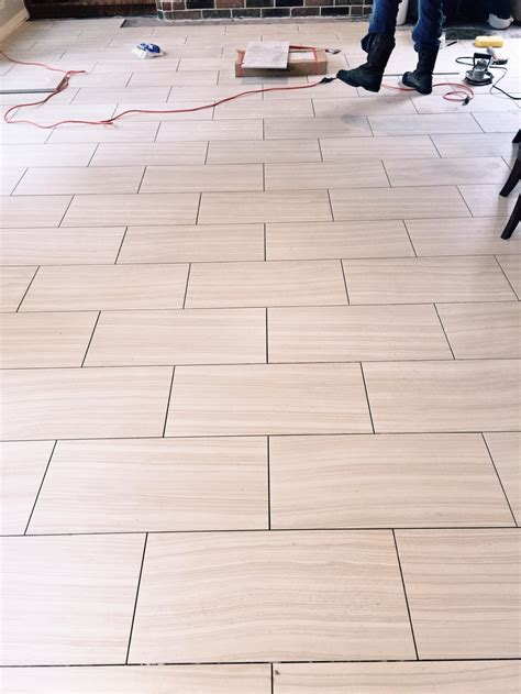 Which Direction Should You Run Your Tile Flooring? Well