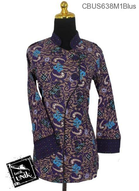 Baju Batik Lengan Pendek Bahan Katun Motif Mega Mendung Warna Abu Abu baju batik sarimbit blus katun motif ombak mega mendung