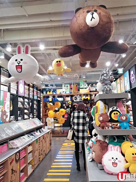 line store 韩国 新沙洞林荫道 line friends store caf 233