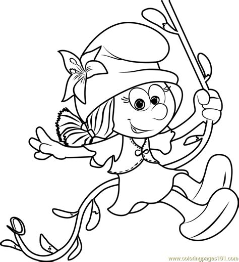 Smurfs Coloring Pages by Smurflily Coloring Page Free Smurfs The Lost