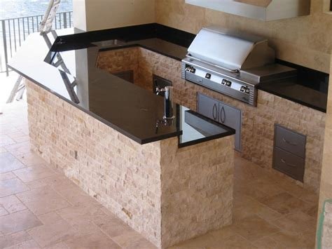 kitchen island countertop ideas magnetic outdoor kitchen islands pre assembled with black